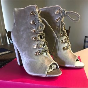 Brand New Catherine Malandrino Faux Fur Lined Boot